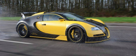 ASA arata cel mai nou Veyron tunat. Ofera 1145 CP si carbon din belsug