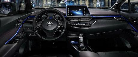 Asa arata interiorul celui mai mic SUV al celor de la Toyota