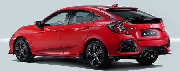 ASA arata noua Honda Civic in versiunea europeana. Primele imagini cu interiorul si exteriorul masinii japoneze