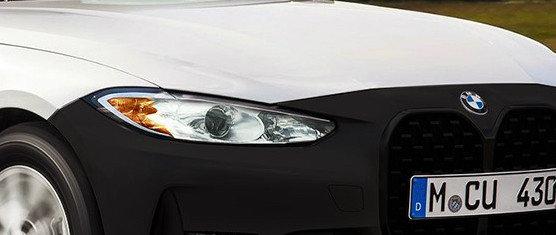 """Asa arata noul BMW Seria 4 in configuratie """"de saraci"""". Cu bare din plastic negru si faruri cu halogen"""