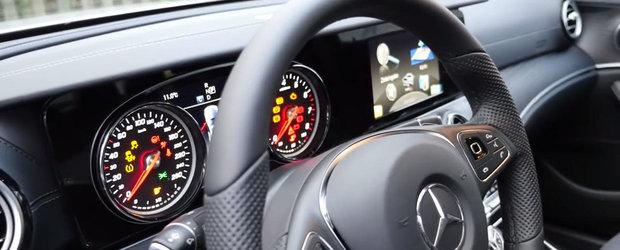 ASA arata noul Mercedes E-Class fara fabuloasele display-uri de 12.3 inch de la interior