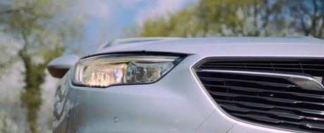 ASA arata noul Opel Insignia fara faimoasele faruri Matrix LED. PLUS: Cum se conduce rivalul lui Passat