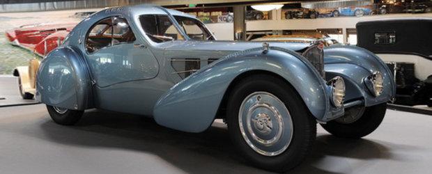 Asa arata o masina de 40 milioane de dolari - Bugatti Type 57SC Atlantic in detaliu!
