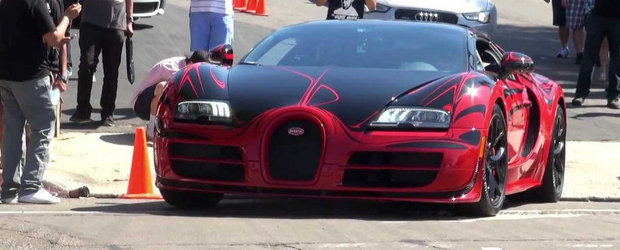 ASA arata un Bugatti unicat in valoare de trei milioane dolari