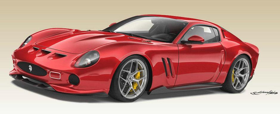 Asa arata un Ferrari 250 GTO modern. Productie limitata la 10 exemplare si pret de cel mult 1 milion de euro
