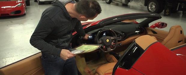 ASA arata un Ferrari echipat cu optiuni in valoare de peste 100.000 de dolari