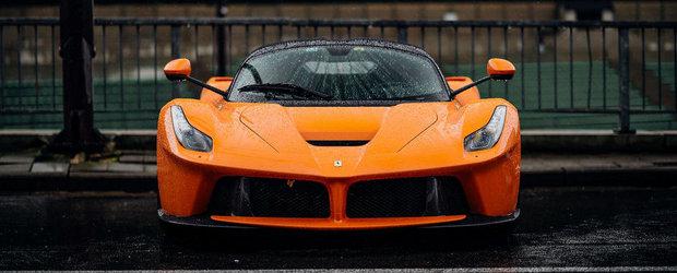 ASA ceva nu vezi in fiecare zi: Ferrari-ul LaFerrari finisat in... portocaliu