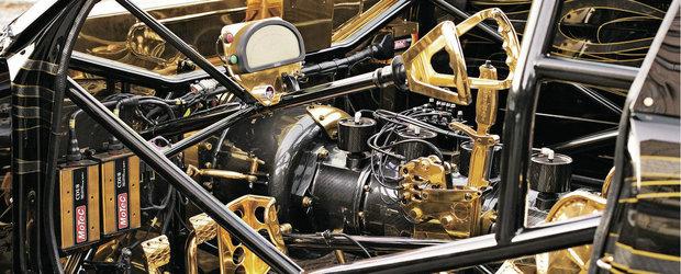 ASA ceva vezi doar o data in viata. Uite BMW-ul tunat cu aur de 1 mil. dolari!