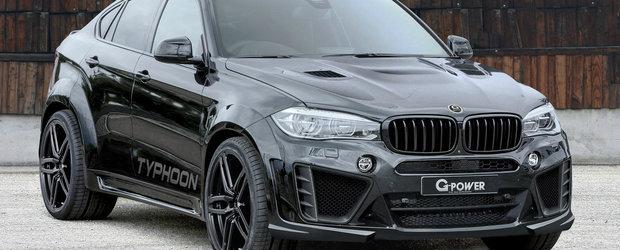 Asa cum ne-au obisnuit, cei de la G-Power au scos untul din BMW X6 M