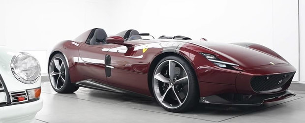 Asa protejezi una dintre cele mai rare masini din lume. Ferrari-ul fara plafon si parbriz costa peste 2 milioane de euro