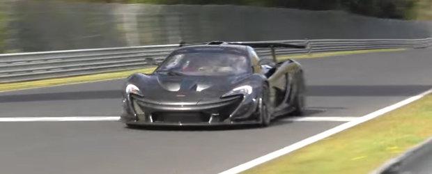 Asa se pregateste McLaren-ul P1 LM sa devina cea mai rapida masina de pe Nurburgring