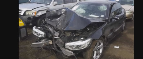 Asa se repara corect un BMW Seria 4 facut dauna totala