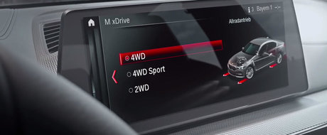 ASA se transforma noul BMW M5 la simpla apasare a unui buton. VIDEO