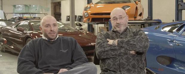 Asa tata, asa fiu: Pasiunea unei familii pentru Jaguar XJ220 si cursele cu motor