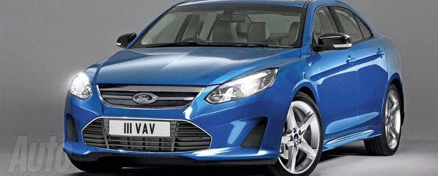 Asa va arata viitorul Ford Mondeo?