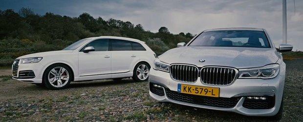 Ascund sub capota cele mai avansate diesel-uri ale momentului. Test comparativ intre Audi SQ7 TDI si BMW 750Ld xDrive