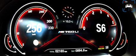 Ascunde sub capota un motor de 6.6 litri. Test de acceleratie cu cel mai puternic BMW al momentului
