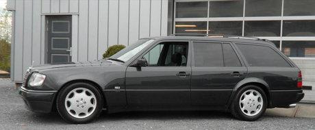 Ascunde sub capota un motor de 6 litri si are numai 57.000 km la bord. Uite cu cat se vinde acest Mercedes din anul '95