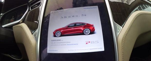 Asta ar trebui sa fie cea mai rulata Tesla din lume. Masina americana a parcurs deja 1.000.000 km
