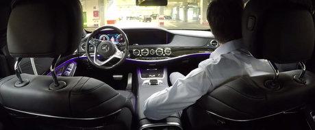 Asta da aroganta. Primul S-Class de generatie noua, programat sa iasa de unul singur din fabrica Mercedes