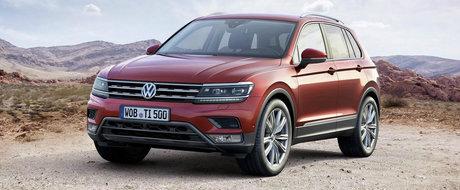 ASTA da surpriza: Noul VW Tiguan e cu peste 3.000 de euro mai ieftin decat predecesorul sau