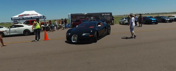 Asta da tata mandru! Fiul sau de 13 ani i-a condus Bugatti-ul Veyron cu peste 320 de km/h