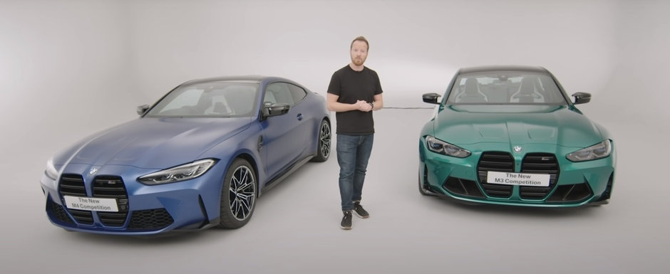 Asta e momentul adevarului. Uite cum arata in realitate, fara Photoshop, noile BMW M3 si M4