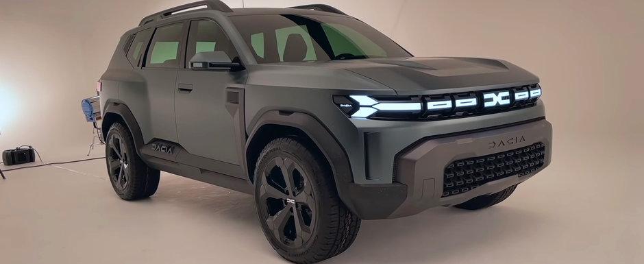 Asta e momentul asteptat de toata lumea. Uite cum arata in realitate noua Dacia Bigster, cel mai mare SUV din gama romanilor