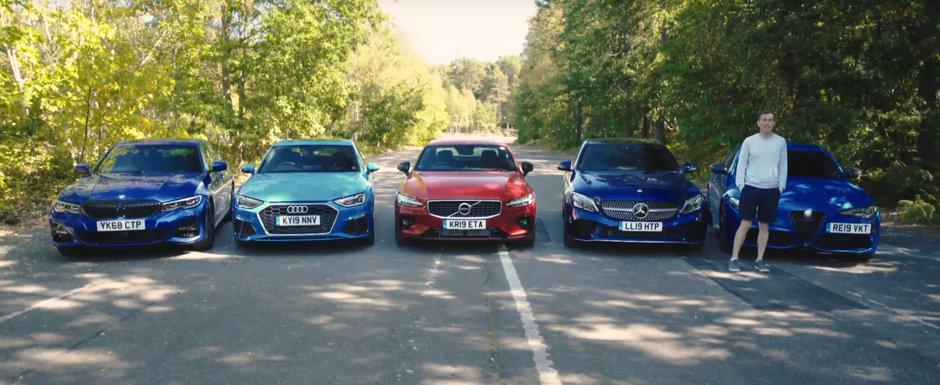 ASTA e momentul pe care il asteptam cu totii. TEST comparativ cu noul Seria 3, A4 Facelift, S60, C-Class si Giulia