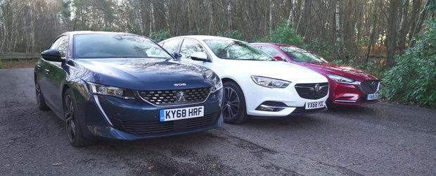 ASTA e momentul pe care il asteptam cu totii. TEST comparativ cu noul Peugeot 508, Mazda6 si Opel Insignia GS