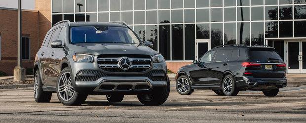ASTA e momentul pe care il asteptam cu totii. TEST comparativ cu noul Mercedes GLS si primul BMW X7 din istorie