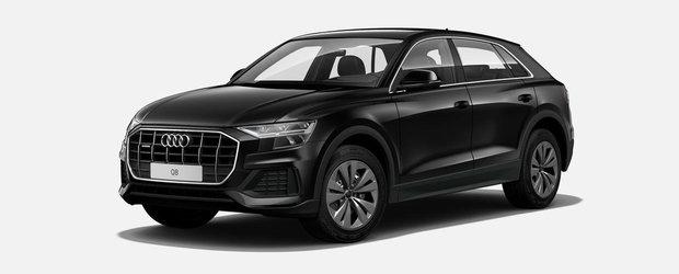 Asta e tot ce primesti daca nu platesti nimic in plus. Uite cum arata noul Audi Q8 in versiunea cheala