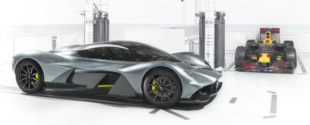 Asta este cel mai nou hypercar al celor de la Aston Martin. Faceti cunostinta cu AM-RB 001