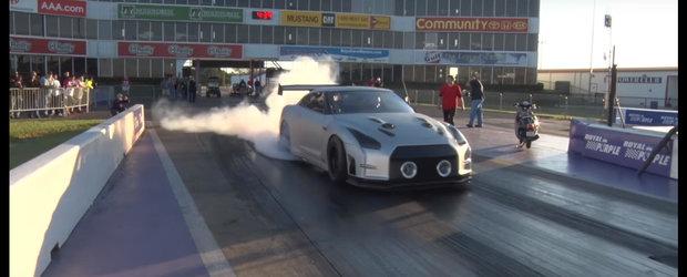 Asta este Nissan-ul de peste 2.400 de cai care promite sa devina cel mai rapid GT-R din lume