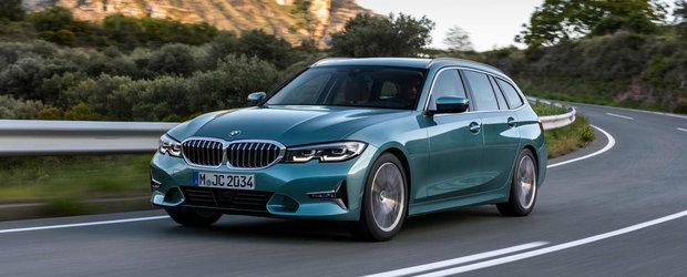 Asta este noua generatie BMW Seria 3 Touring. Break-ul german este mai practic si mai inteligent ca niciodata