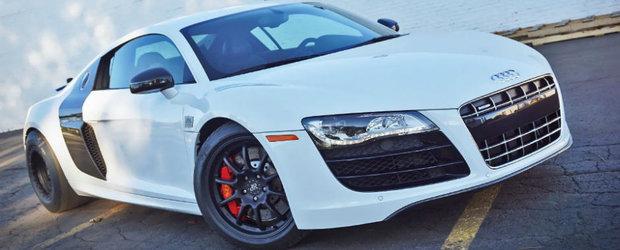 Asta este unul dintre cele mai puternice Audi-uri R8 din lume. Are 1.500 de cai si face suta in 2 secunde