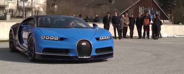 Asta-i momentul adevarului. Uite cum arata in realitate noul Bugatti Chiron!
