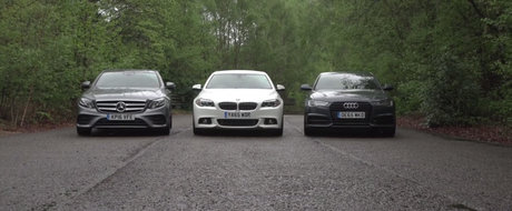 Asta-i testul asteptat de toata lumea. Cum se compara noul Mercedes E-Class cu Audi A6 si BMW Seria 5