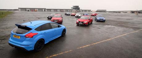 Asta-i testul pe care il asteptam cu totii. Avem noul Ford Focus RS versus... restul lumii