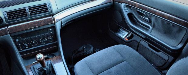 Asta primeai daca nu plateai nimic in plus. Uite cum arata vechiul BMW Seria 7 E38 in varianta cheala