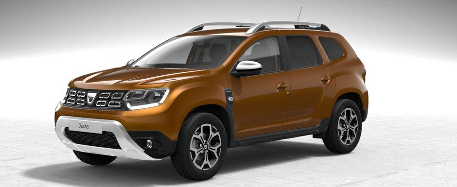 """Asta primesti daca alegi meniul complet. Uite cum arata noua Dacia Duster in versiunea """"full option"""""""