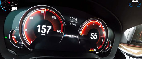 ASTA primesti daca alegi versiunea M550d. TEST de acceleratie cu singura masina diesel din lume cu PATRU TURBINE!