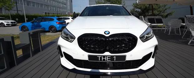 Asta primesti daca bifezi absolut toate dotarile. VIDEO in detaliu cu noul BMW M135i cu accesorii M Performance