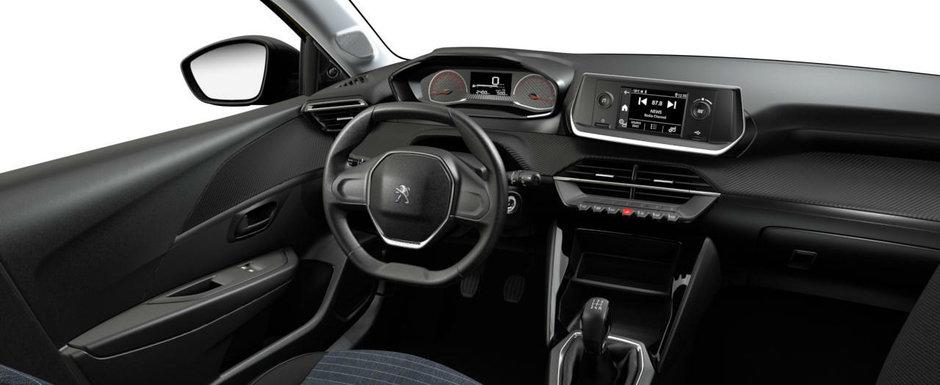 Asta primesti daca nu platesti nimic in plus. Uite cum arata cea mai noua masina de la Peugeot in versiunea 'cheala'