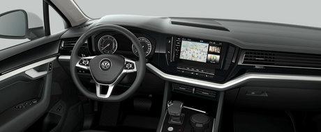 Asta primesti daca nu platesti nimic in plus. Uite cum arata noul Volkswagen Touareg in versiunea 'cheala'