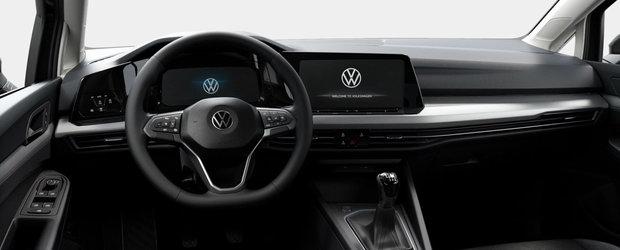 "Asta primesti daca nu platesti nimic in plus. Uite cum arata noul Volkswagen Golf 8 in varianta ""cheala"""