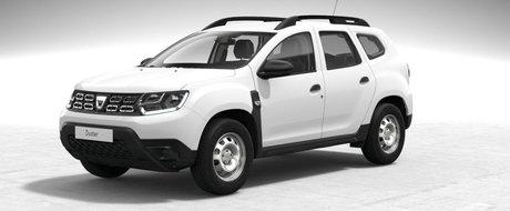 """Asta primesti daca nu platesti nimic in plus. Uite cum arata noua Dacia Duster in versiunea """"cheala"""""""