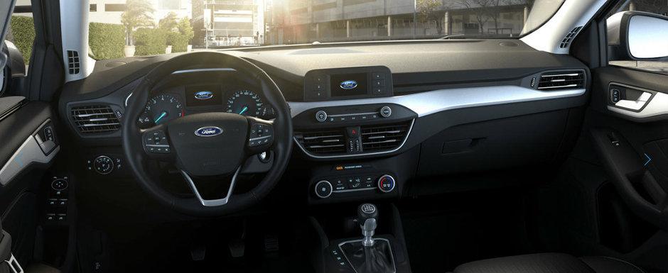 Asta primesti daca nu platesti nimic in plus. Uite cum arata noul Ford Focus in versiunea 'cheala'