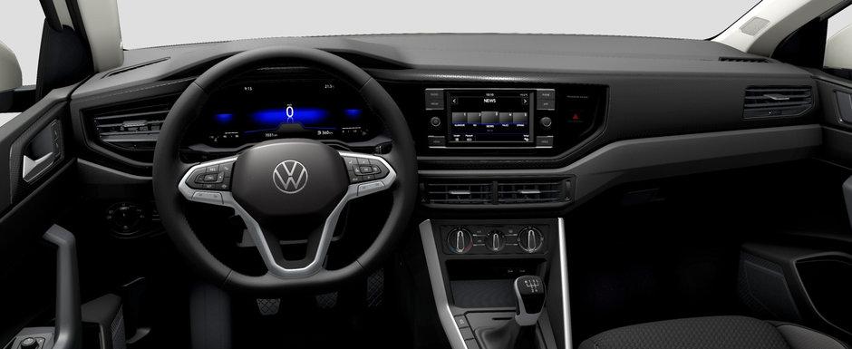 Asta primesti daca nu platesti nimic in plus. Uite cum arata cea mai ieftina masina pe care Volkswagen o vinde in Romania in varianta cheala