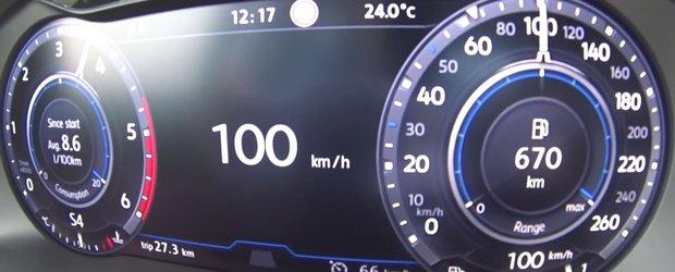 Asta se intampla cand mai adaugi o turbina. Test de acceleratie la bordul noului VW Tiguan BiTDI